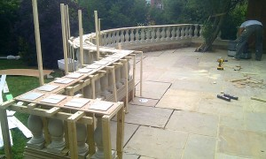 Timber shuttering is taking shape here.